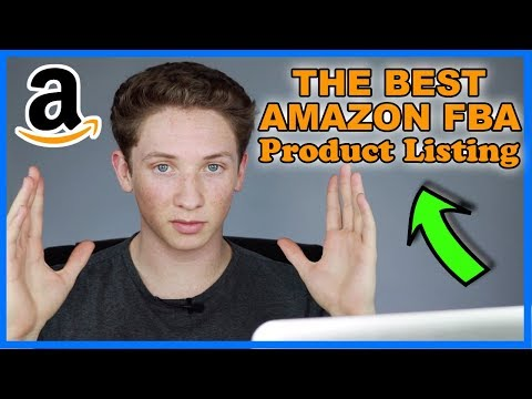 How To Create An Amazon FBA Listing With Optimized Title, Bullet Points, Pictures, & Description!