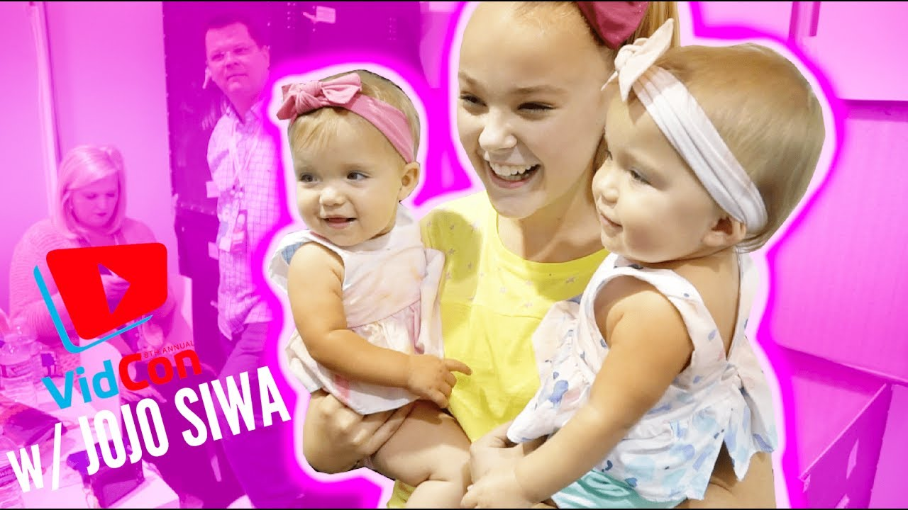 Our First Vidcon 2017 With Jojo Siwa Youtube
