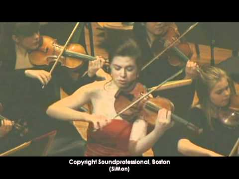 Tessa Lark play Walton Violin Concerto (1st mov Part 1) (Producer Simon)