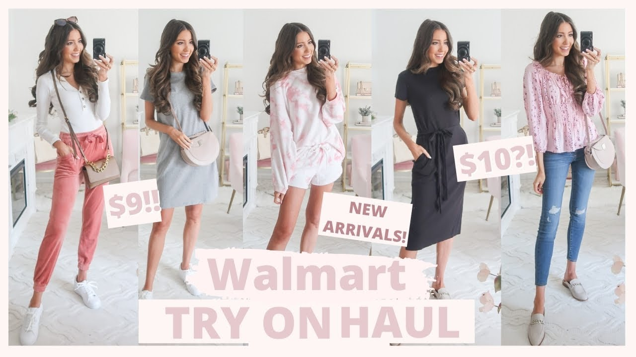 HUGE WALMART TRY ON HAUL 2021 ? New Arrivals //  WINTER + SPRING OUTFITS