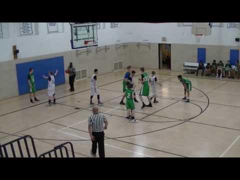 Clague vs. Tappan Middle School 8th Grade Basketball