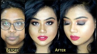 EID MAKEUP TUTORIAL| BROWN SMOKEY EYE |  FOR BEGINNERS