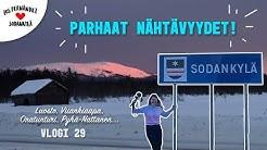 SODANKYLÄN SUOSIKKINÄHTÄVYYDET #vaihtovuosisodankylässä vlogi 29