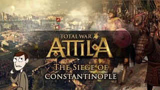 Total War: Attila - Multiplayer Battle Gameplay The Siege of Constantinople (Custom Battle!