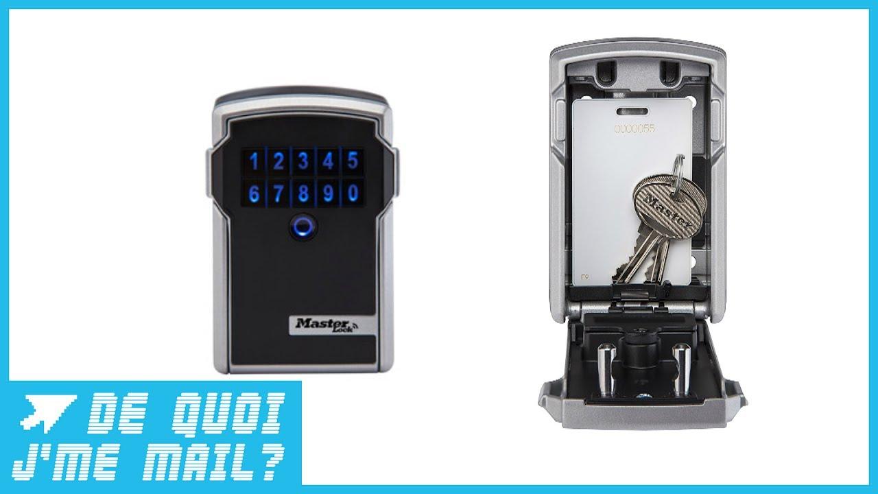un mini coffre fort connect pour partager vos clefs dqjmm