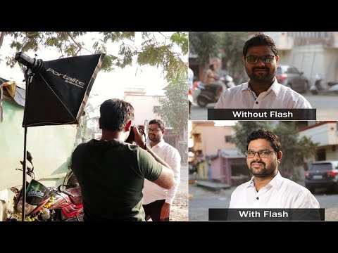 Outdoor Photography | without flash and with flash photography Tips in Hindi