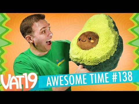 Giant Stuffed Avocado, Red-Hot Gummy Bears, Sour Cotton Candy & More | A.T. #138