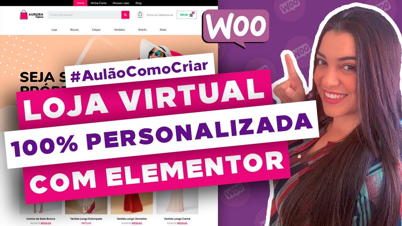 Como Criar uma LOJA VIRTUAL no Wordpress com Woocommerce e Elementor (Passo a Passo)