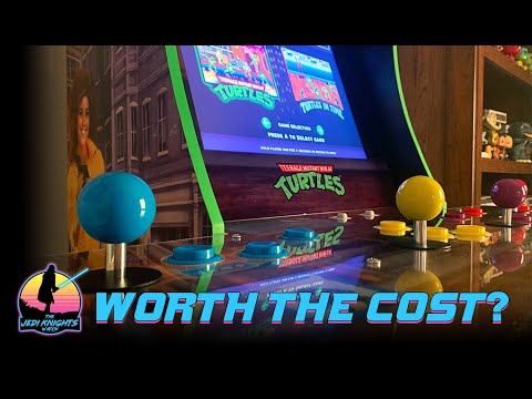 TMNT Arcade 1UP Review - Worth the Cost? from The Jedi Knights Watch