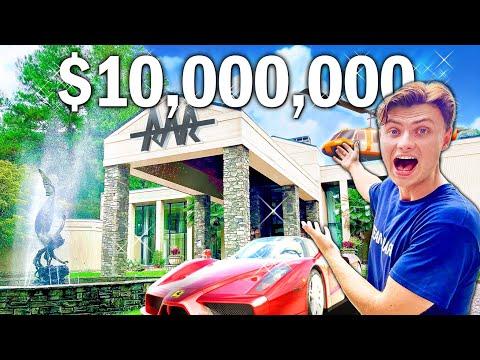 I Bought a $100,000,000 House!! (New Team RAR House)