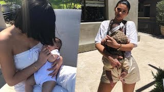 kylie jenner struggling to be a mom?