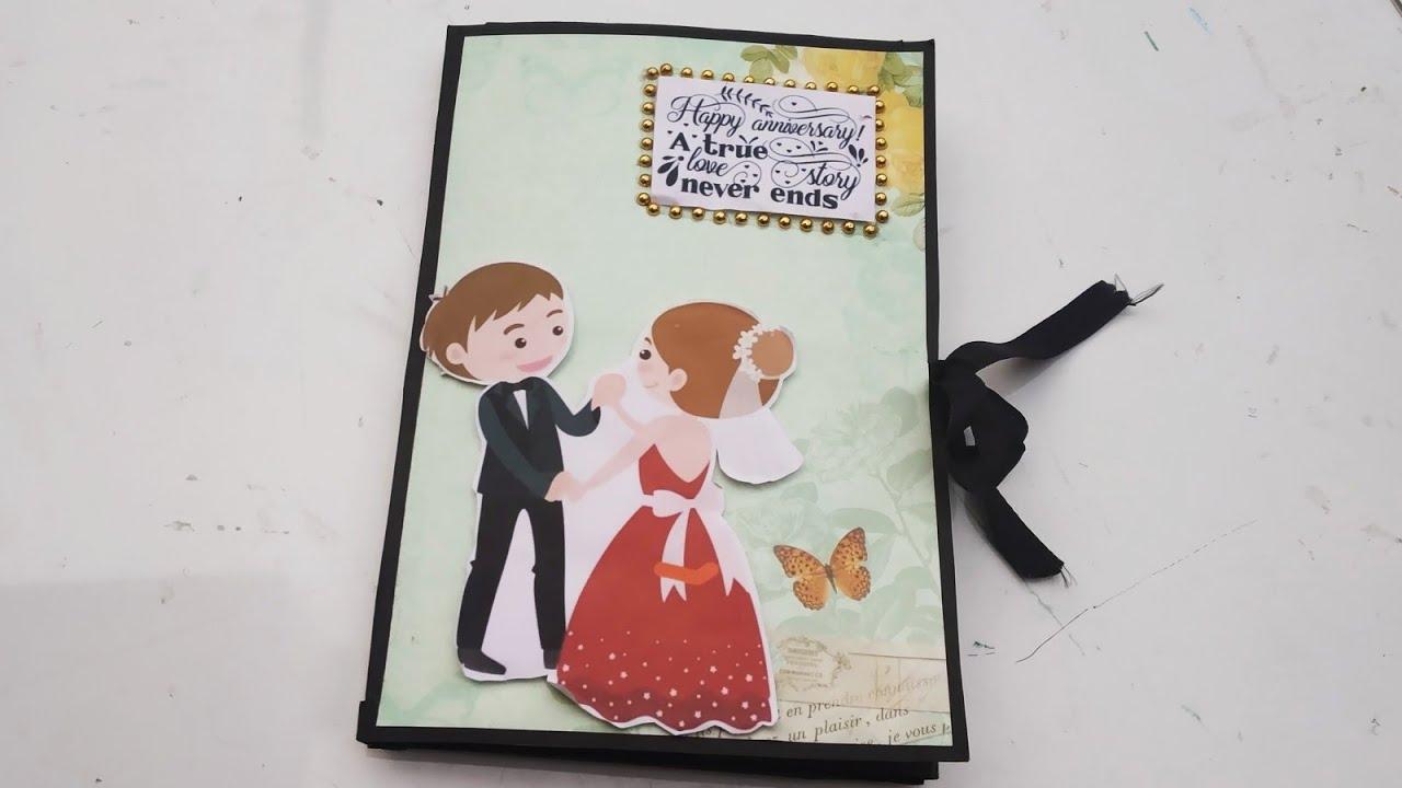 Handmade Gift Idea For Anniversary Multifold Anniversary Card