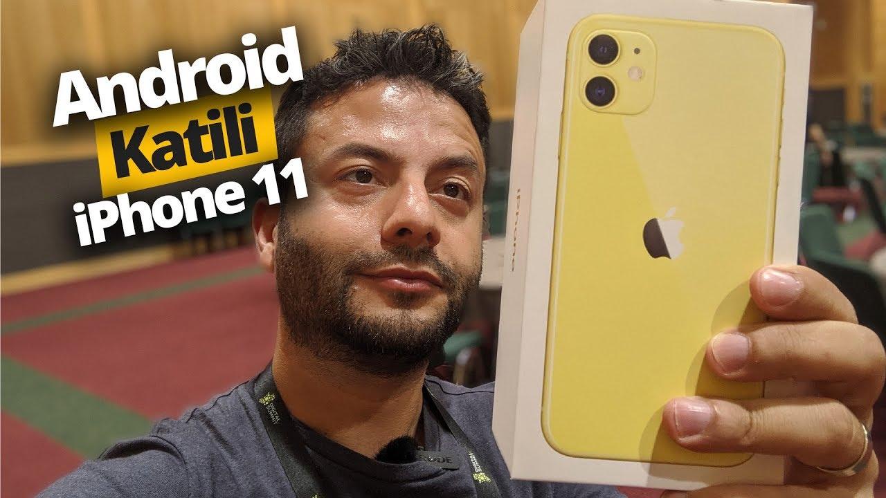 iPhone 11 Kutusundan Çıkıyor! Android katili geldi