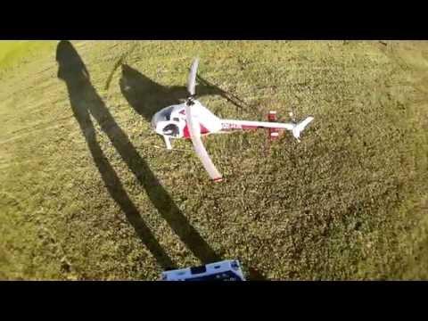 Rotorway Exec 70 flight at MAN 2015