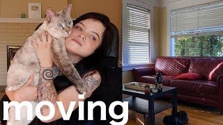 i moved (a tour + surprising my mom)