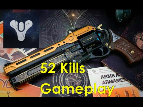 52 Kills with The Last Word - Destiny PVP Multiplayer Gameplay
