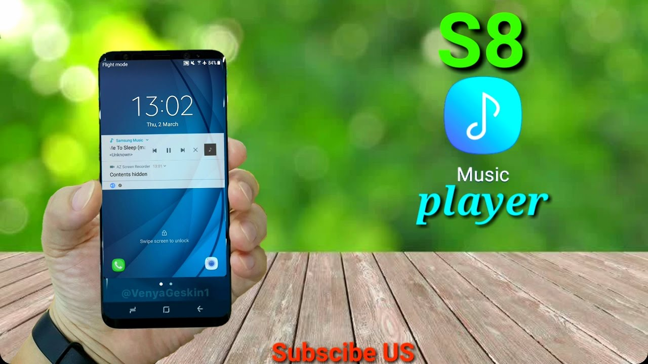 samsung galaxy s8 music player app review sstech youtube. Black Bedroom Furniture Sets. Home Design Ideas