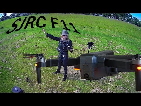 SJRC F11 drone   Brushless GPS FPV   Drone Review   Flight test   Part I