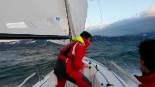 J 70 - Genacker Action - Speed 20 Knots - Lake of Constance - Bodensee - Sailing