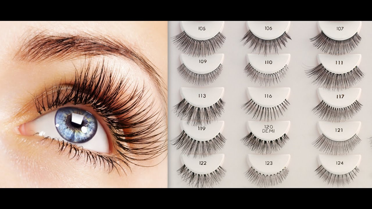 Best Lashes 101 All About False Lashes Youtube