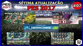 PES 2017 - SÉTIMA ATUALIZAÇÃO, DATA PACK 1.0 E DLC 1.02, NOVAS FACES, NOVAS CHUTEIRAS E BÔNUS DIÁRIO