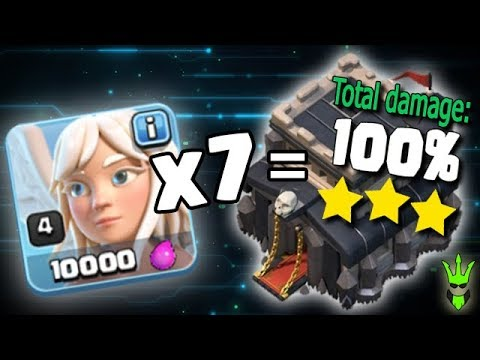 7 HEALER 3 STAR?!! - Best TH9 War Attacks! - Clash of Clans - TH9 Triples