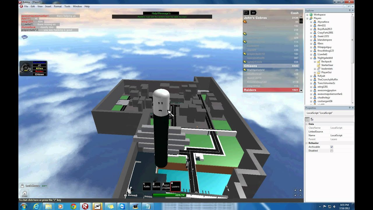 Roblox How to bypass the crash ban script