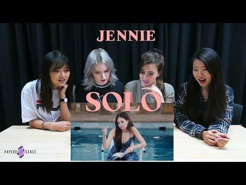 [MV REACTION] SOLO - JENNIE (BLACKPINK) | P4pero Dance