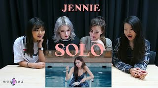 [MV REACTION] SOLO - JENNIE (BLACKPINK) | P4pero Dance