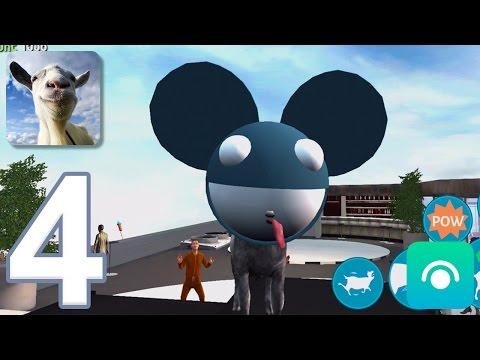 Goat Simulator - Gameplay Walkthrough Part 4 - Goat City Bay (iOS, Android)