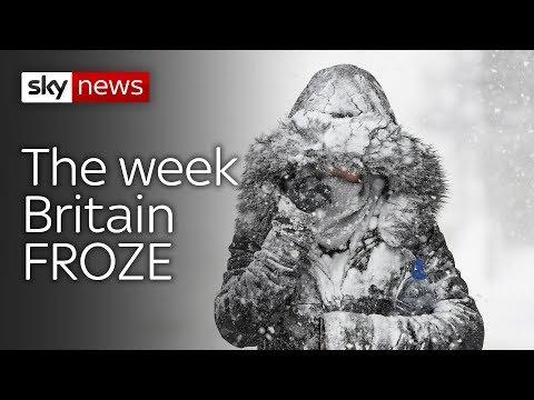 The week Britain froze