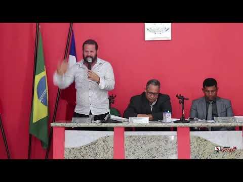 Gustavo fala na Câmara sobre óleo nas praias da Península de Maraú.