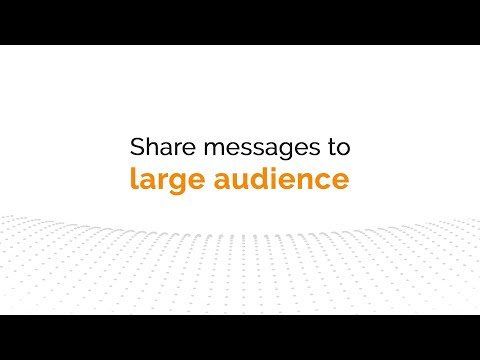 One App for all Your Message Broadcasting Solution