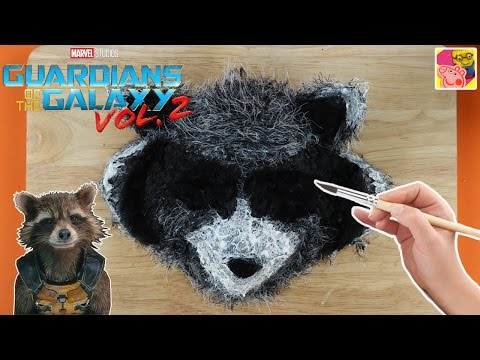 How To Make A Rocket Raccoon Mask From Guardians Of The