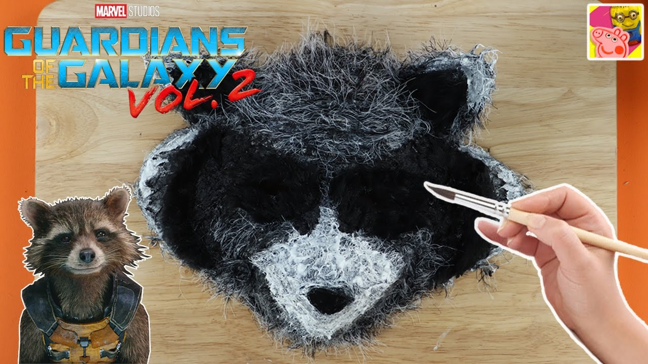 How to make a rocket raccoon mask from guardians of the galaxy how to make a rocket raccoon mask from guardians of the galaxy paper mache crafts crafty kids jeuxipadfo Images