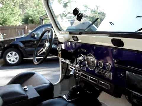 4x4 Jeep Wrangler 1983 Jeep Scrambler CJ-8 For Sale BO over $20K - YouTube