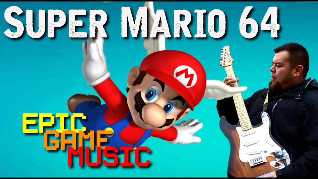 "Super Mario 64 ""Dire, Dire Docks"" Music Video // Epic Game Music"