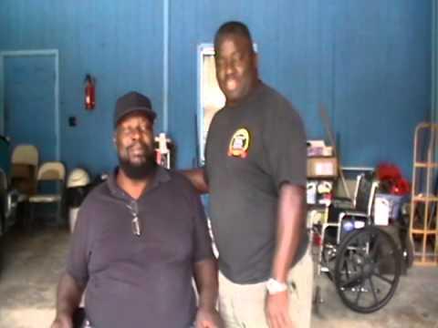 WWE Wrestling Legend Kamala gets new scooter from friend KoKo B. Ware