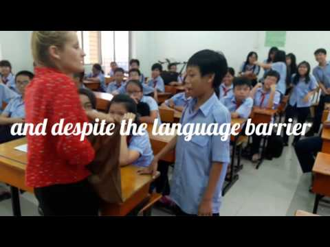 Teaching English in Vietnam (funny moments)