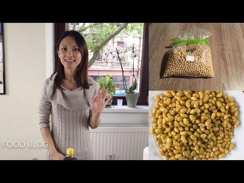 Deep fried soybean authentic Sichuan/ Szechuan food recipe #9 四川酥黄豆