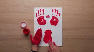BR جعل و خلق - DIY - fingermaling