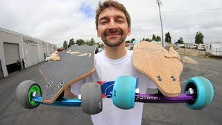THE WORLD'S MOST TECHNOLOGICALLY ADVANCED LONGBOARD 2.0
