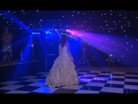Wedding First Dance & Dance Floor action with DJ Rich Acklam (Movie Web site track back disco