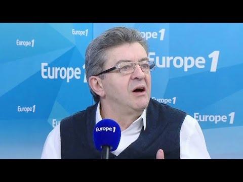 """Jean-Luc Mélenchon """" La droite aurait été plus inspirée de changer de candidat """""""