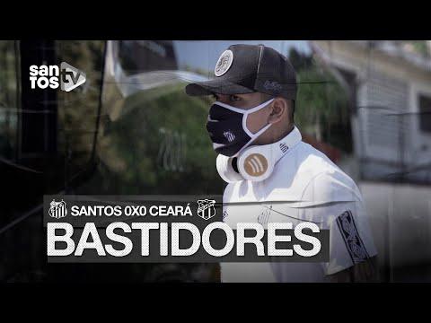 SANTOS 0 X 0 CEARÁ | BASTIDORES | COPA CONTINENTAL DO BRASIL (28/10/20)