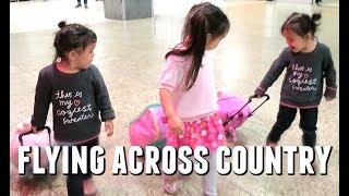 FLYING ACROSS COUNTRY! - June 10, 2017 -  ItsJudysLife Vlogs