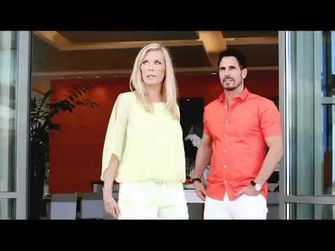 B&B RIDGE BROOKE BILL IN DUBAI From 23 May 2014 Bold Beautiful Wedding Katherine Kelly Lang Promo