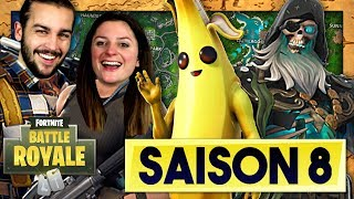 SAISON 8 FORTNITE: COMBAT AND NEW MAP!
