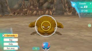 GRAVELER SHINY HUNTING - Pokemon Let's Go Eevee - Na żywo