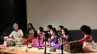 Alankar School of Indian Classical Music - Jun 5th 2011 Concert - Naman Karu - Raag Khamaj